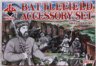 Red Box 1/72 RB72073 Battlefield Accessory Set (16th-17th Century)